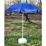 Зонт пляжный Митек ПЭ-180/8 (синий)