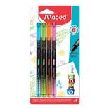 Ручки капиллярные трехгранные Maped Graph Pep's линия 0,4 мм 4 шт 749043