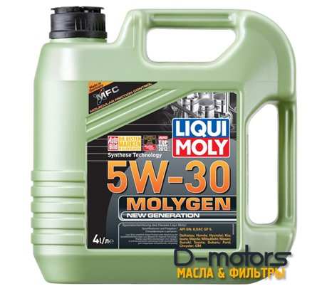 LIQUI MOLY MOLYGEN NEW GENERATION 5W-30 (4л.)