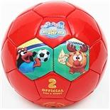 Мяч футбольный Смешарики №2 SMSO 101 (оранжевый)