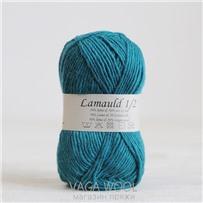 Пряжа Lamauld Бирюза 6552, 100м/50г, CaMaRose, Turkis