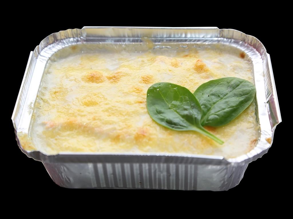 Запеченный гребешок под голубым сыром
