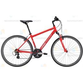 Велосипед Merida Crossway 10-V (2016) Matt Red/White, интернет-магазин Sportcoast.ru