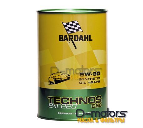 Bardahl Technos C60 5W-30 Exceed (1л)