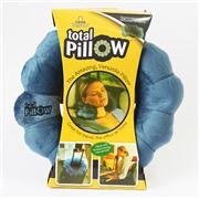 Подушка-трансформер для путешествий Total Pillow (Тотал Пиллоу) Синяя