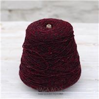 Пряжа Alpaca Tweed Бордо, 115м/50г., Knoll Yarns