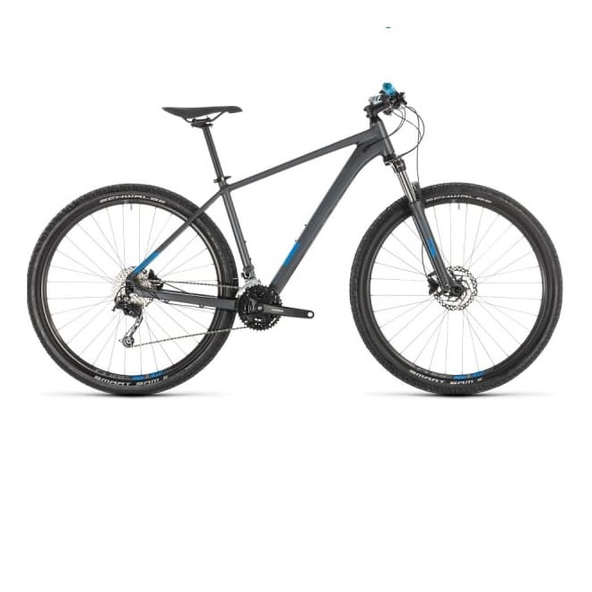 Велосипед CUBE AIM SL 27.5 (iridium'n'blue) 2019, интернет-магазин Sportcoast.ru