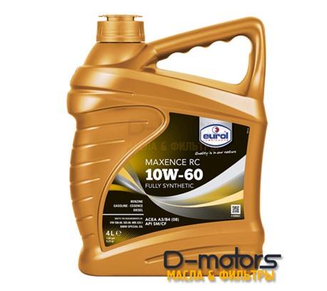 Моторное масло Eurol Maxence RC 10W-60 (4л.)