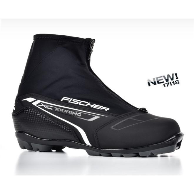Ботинки NNN Fischer XC TOURING BLACK S21215, интернет-магазин Sportcoast.ru