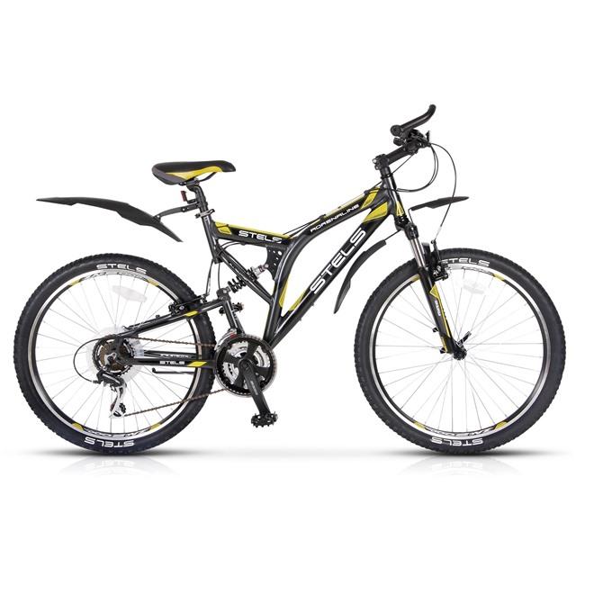 Велосипед Stels Adrenalin (2014) Серый/Черный , интернет-магазин Sportcoast.ru