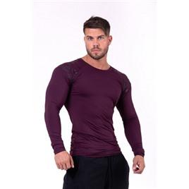 NEBBIA Hero compression shirt цв.бургундия