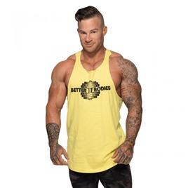 Спортивная майка Better Bodies Team BB Stringer V2, лимонный желтый