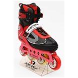 Роликовые коньки JOEREX RO0715 (красный) (р.30-33)