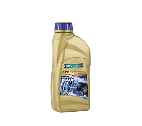 Трансмиссионное масло для АКПП Ravenol ATF 5/4 HP Fluid (1л)