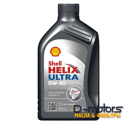 Моторное масло Shell Helix Ultra 0w-40 (1л.)