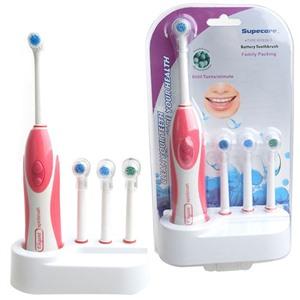 Электрическая зубная щетка с насадками (4шт)YOUTU