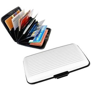 Алюминиевый рифленый кошелек Aluma Wallet (Алюма Валет) цвет белый, оригинал в коробочке