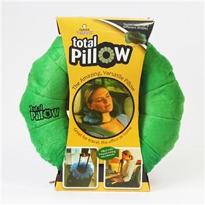 Подушка-трансформер для путешествий Total Pillow (Тотал Пиллоу) Зеленая