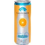 Gasteiner Orange (с соком апельсина) 0,33 упаковка минеральной газированной воды - 24 шт.