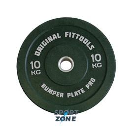 Диск бамперный 10 кг (зеленый)