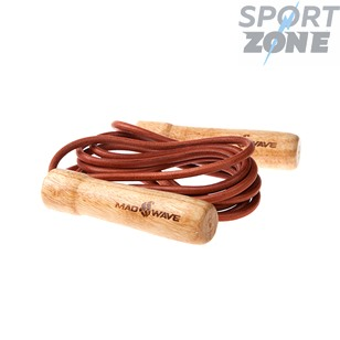 Wooden Skip Rope with leather cord