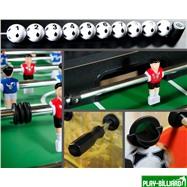 Настольный футбол (кикер) «Roma II» (140x76x87 см, цветной), интернет-магазин товаров для бильярда Play-billiard.ru. Фото 2