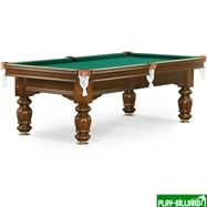 Weekend Бильярдный стол для русского бильярда «Classic II» 9 ф (орех), интернет-магазин товаров для бильярда Play-billiard.ru