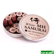 REI TIP & MAX Co. Наклейка для кия «Rei Samurai White» (MН) 14 мм, интернет-магазин товаров для бильярда Play-billiard.ru. Фото 2