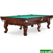 Weekend Бильярдный стол для снукера «Gogard» 10 ф (черный орех), интернет-магазин товаров для бильярда Play-billiard.ru