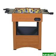 Weekend Настольный футбол (кикер) «Express» (121x61x78.1 см, орех), интернет-магазин товаров для бильярда Play-billiard.ru. Фото 6