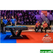 Weekend Бильярдный стол для пула «Victory II Plus» 9 ф (черный), интернет-магазин товаров для бильярда Play-billiard.ru. Фото 8