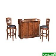 Weekend Барный стол «Norman» (на колесах), интернет-магазин товаров для бильярда Play-billiard.ru. Фото 2