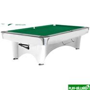 Weekend Бильярдный стол для пула «Dynamic III» 8 ф (белый), интернет-магазин товаров для бильярда Play-billiard.ru