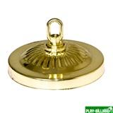 Weekend Декоративная чашка, потолочная (золотистая), интернет-магазин товаров для бильярда Play-billiard.ru