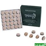 DBO Наклейка для кия «Shooter» (M) 13 мм, интернет-магазин товаров для бильярда Play-billiard.ru