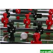 Weekend Настольный футбол (кикер) «Inter» (148.5 х 78 х 90 см, черный), интернет-магазин товаров для бильярда Play-billiard.ru. Фото 6