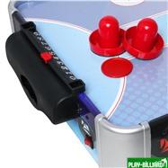 """Настольный аэрохоккей  """"Blue Ice Hybrid"""" (86 см х 43 см х 15 см), интернет-магазин товаров для бильярда Play-billiard.ru. Фото 3"""