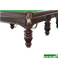 Weekend Бильярдный стол для снукера «Dynamic Prince» 12 ф (махагон), интернет-магазин товаров для бильярда Play-billiard.ru. Фото 6
