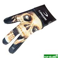 Longoni Перчатка бильярдная «Longoni Fancy Skull 3», интернет-магазин товаров для бильярда Play-billiard.ru. Фото 1