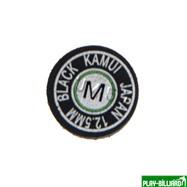 Kamui Наклейка для кия «Kamui Black» (М) 12.5мм, интернет-магазин товаров для бильярда Play-billiard.ru. Фото 5