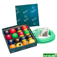Aramith Saluc Комплект шаров 57.2 мм «Aramith Neon», интернет-магазин товаров для бильярда Play-billiard.ru
