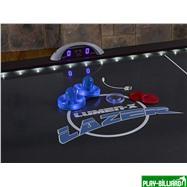 Atomic Аэрохоккей «Atomic Lumen-X Lazer» 6 ф (183 х 102 х 79 см, черный), интернет-магазин товаров для бильярда Play-billiard.ru. Фото 6