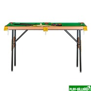 Weekend Бильярдный стол для пула «Hobby 4.5'» (в комплекте), интернет-магазин товаров для бильярда Play-billiard.ru. Фото 4