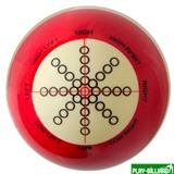"""Classic Шар 57.2 мм """"Training"""" для тренировок, красный, интернет-магазин товаров для бильярда Play-billiard.ru"""