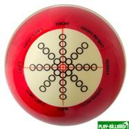 """Classic Шар 57.2 мм """"Training"""" для тренировок, красный, интернет-магазин товаров для бильярда Play-billiard.ru. Фото 1"""