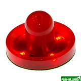 Weekend Бита для аэрохоккея LED «Atomic Top Shelf / Lumen-X Laser» D96 мм, красная, интернет-магазин товаров для бильярда Play-billiard.ru