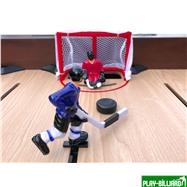Weekend Хоккей «Легенда 17» (141.5 x 72.4 x 81 см, коричневый), интернет-магазин товаров для бильярда Play-billiard.ru. Фото 10
