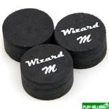 Wizard Наклейка для кия «Black Wizard» (M) 14 мм, 11 слоев, интернет-магазин товаров для бильярда Play-billiard.ru