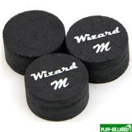 Wizard Наклейка для кия «Black Wizard» (M) 14 мм, 11 слоев, интернет-магазин товаров для бильярда Play-billiard.ru. Фото 1