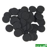 Фибра упаковка 50 шт. (чёрная, 1 мм, н/д 14мм), интернет-магазин товаров для бильярда Play-billiard.ru